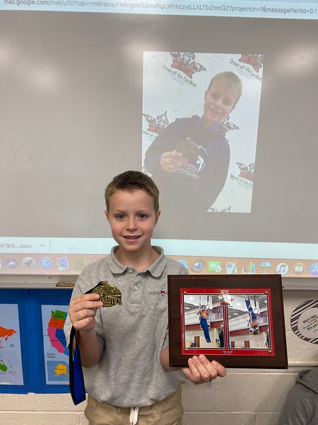 Gymnastics achievements for Tyler