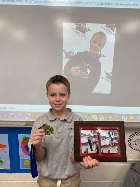 Gymnastics achievements for Tyler