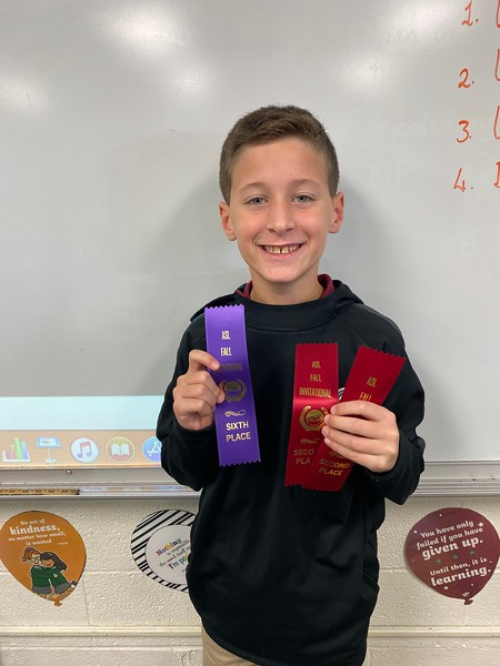 Swimming achievements for Asher