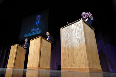 Third Party Presidential Debate at CU Boulder