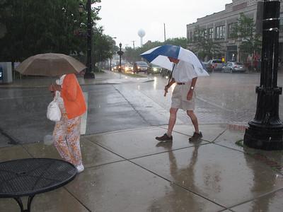 "June 18, 2015, Vermilion's Wettest Third Thursday yet ? Probably, 1.3 "" of rain."