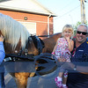 A new addition on Third Thursday, ride via horsebuggy around town, here is Jim Otton and his granddaughter.