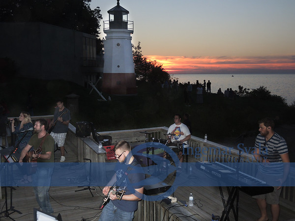 Third Thursdays, Music, Flowers and a Sunset-Vermilion