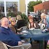 Russ and Jan Dickerhoff. Vicki Schweinberg, Becky Katowski and Cherie Reese enjoying the music of Don Moore