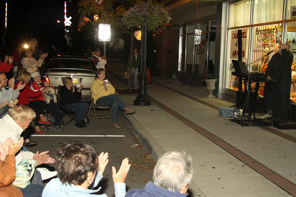 Vermilion--September 15, 2011, the last Third Thursday, even though COLD..was still a big success