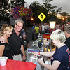 Kate Coleman and Keith Kuhn from Columbus buying a Snow Cone.