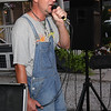 Scott Maiher enjoying Karaoke.
