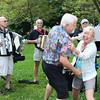 George Johnston and Linda Hardesty having fun.