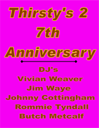 2009 Thirsty's 2 Anniversary Party