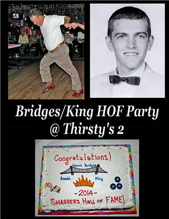 2014 Bridges/Kings Hall of Fame Party @ Thirsty's 2