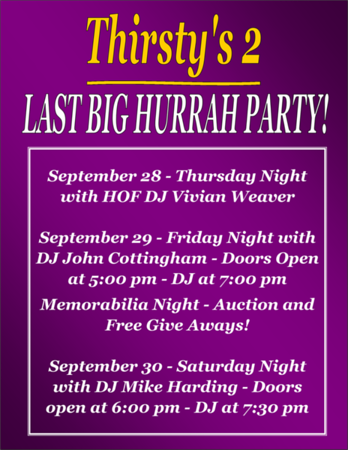 2017 Thirsty's 2 Big Hurrah Party Weekend