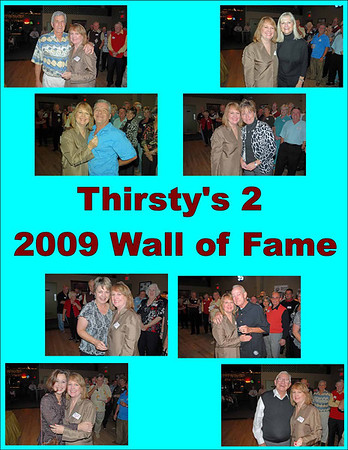 2009 Thirsty's 2 Wall of Fame Induction