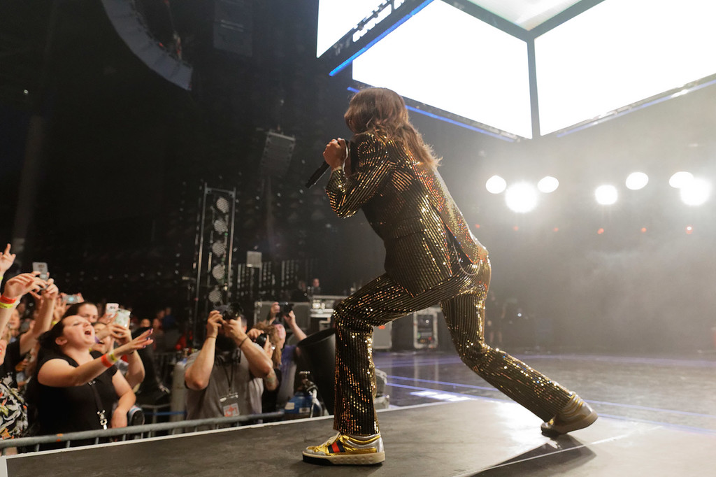 . Thirty Seconds To Mars live at DTE Music Theatre on 6-12-2018. Photo credit: Ken Settle