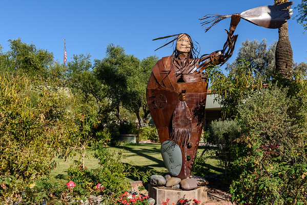 Iron Indian Chief, Scottsdale AZ (3 January 2015)