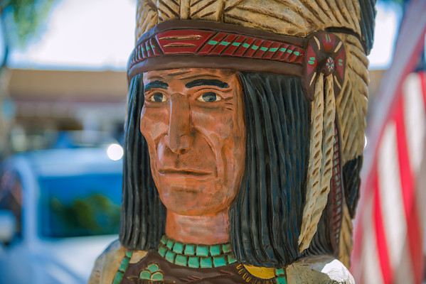 Wooden Indian, Scottsdale AZ (3 January 2015)