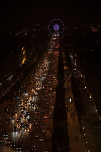 Roue de Paris from Arc de Triomphe