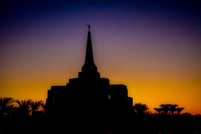 Gilbert Temple 3 Tone Sunset