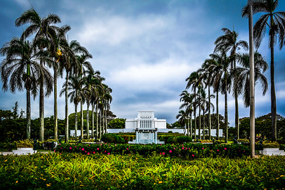 Laie Temple HDR