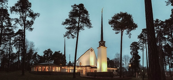 Just to look at. Stockholm Sweeden Temple (Low Res)