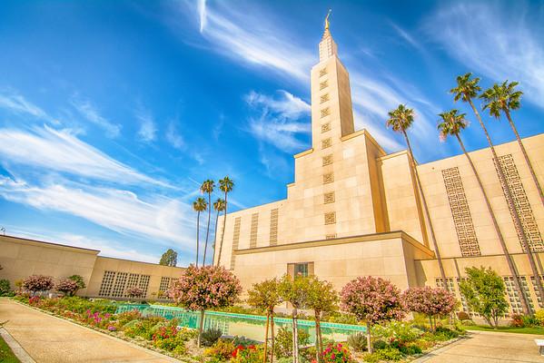 LDS Temple Vibrance