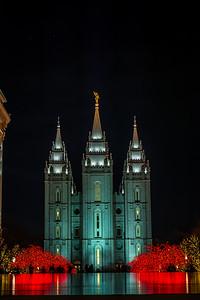 Salt Lake Temple Reflection 5