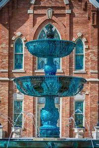 Provo City Center Temple Fountain of Living Water