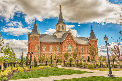 Provo City Center Temple with Lamp
