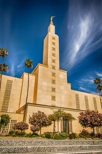 Los Angeles Temple Moroni