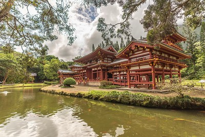Boyodo_In Temple Tree View