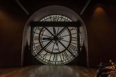Inside clock of Musee d' Orsay