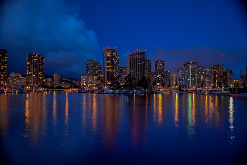 Waikiki Cityscape