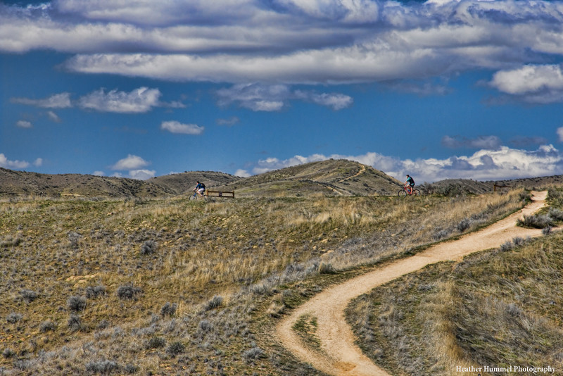 Mountain Bikers on Camel's Back Trails