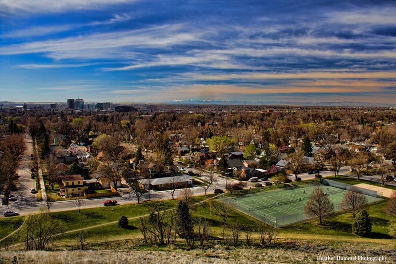 Camel's Back Park's View of Boise