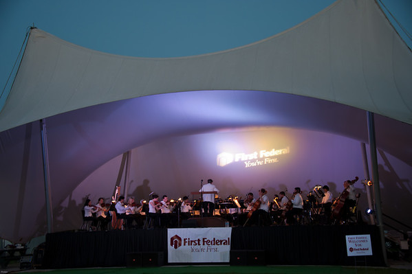 evening concert, Chas'tn Symphony Orch. at Boone Hall