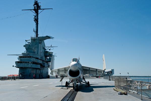 Lexington flight deck
