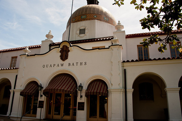 Hot Springs bathhouse.