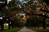 Boone Hall, SC at dusk