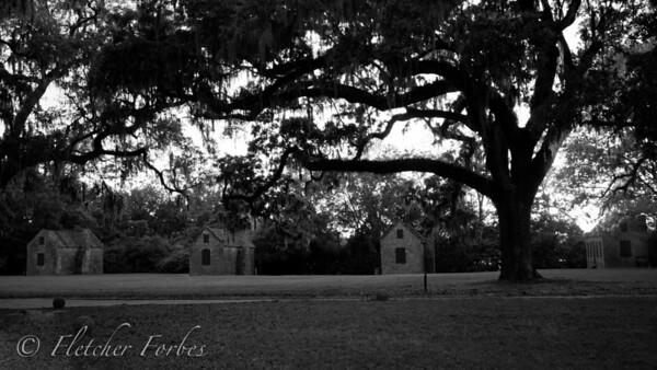 slave street, Boone Hall, SC