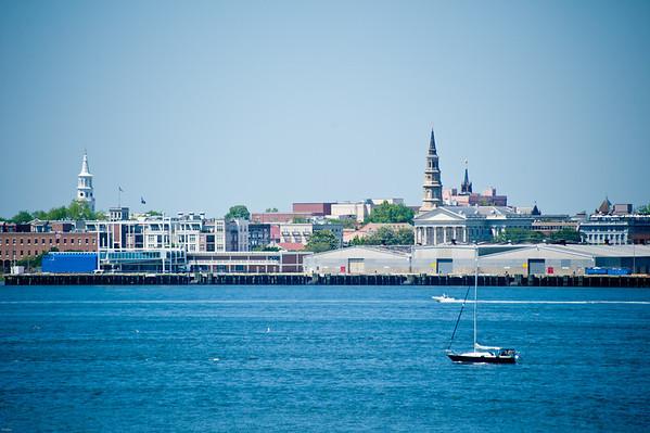 Charleston, SC skyline