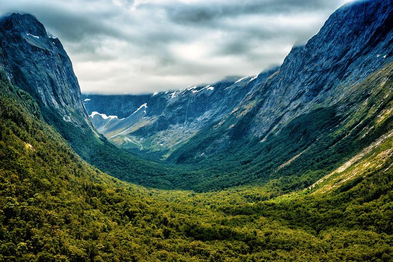Valleys of Milford Sound