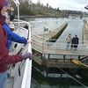 going through the Ballard Locks