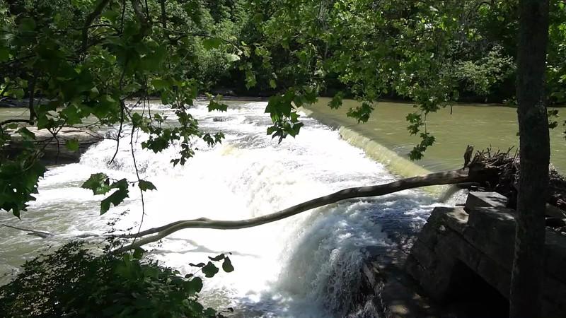 Upper Falls of Cataract SRA in Owen County Indiana