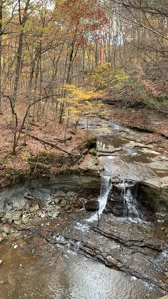 Waterfall in McCormick's Creek State Park