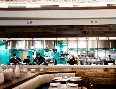 Open Kitchen Pisco Y Nazca Restaurant in Miami