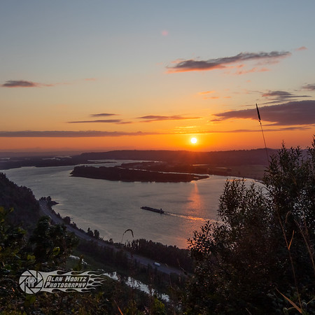 Sunset on the Columbia River