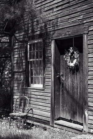 Doorway 2 (BW), Lyme NH