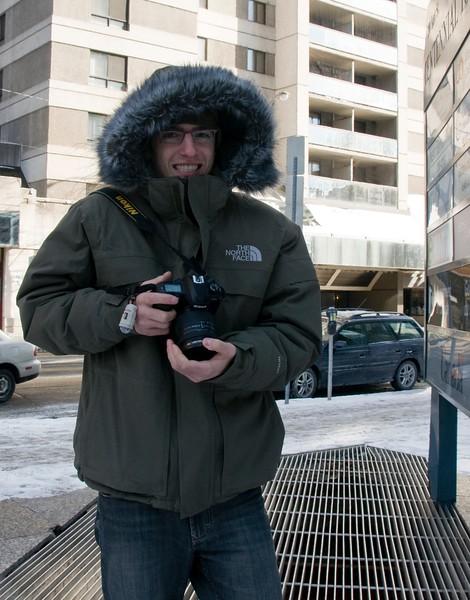Freezing Lonny in Ottawa