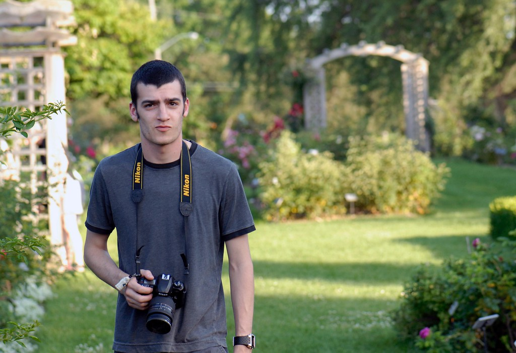 Lonny in the Arboretum Ottawa