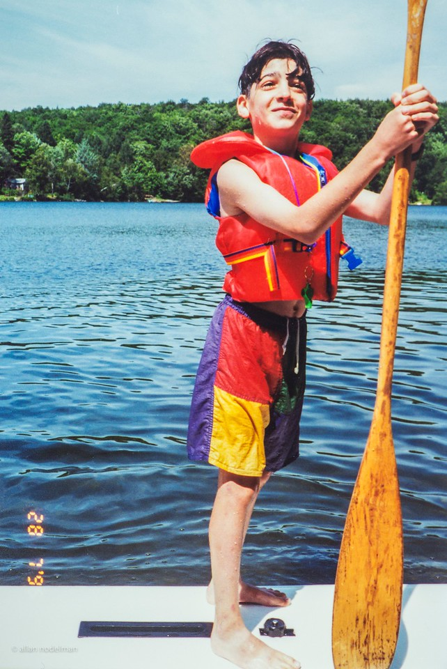 Stand Up Paddle Board Before it Was Fashionable