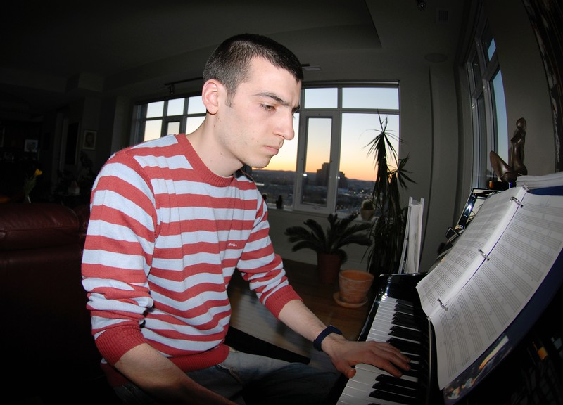 Lonny at Piano
